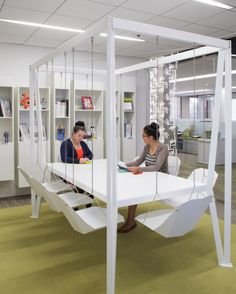 SWING Pirch Headquarters by Hollander Design Group