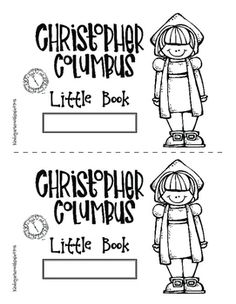 A Christopher Columbus Day Freebie!The Little Book contains a limited amount of informational text intentionally! I believe that if we try to stuff… Kindergarten Social Studies, Social Studies Activities, Kindergarten Activities, Science Activities, Preschool Crafts, 1st Grade Worksheets, Columbus Day, Day Book, Christopher Columbus