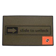Balvi Door mat – Slide to Unlock