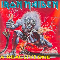 A Real Live One is a live album by the British heavy metal band Iron Maiden, released in March 1993. Description from imgarcade.com. I searched for this on bing.com/images