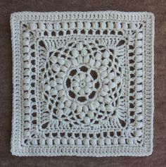 Duck Bill Dalliance Square: free #crochet pattern