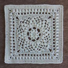 Duck Bill Dalliance Square: free #crochet pattern