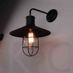 89.00$  Buy now - http://ali6w7.shopchina.info/go.php?t=32625057711 - American vintage iron wall lamp loft outdoor wall lights bedside with e27 edsion bulb lamp 89.00$ #aliexpressideas