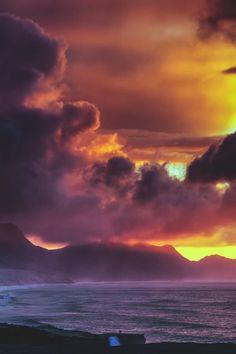lsleofskye:Rainy sunset in Jandía