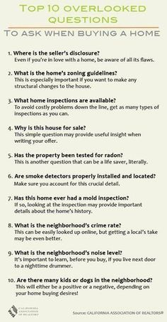 House Checklist http://re831.com/