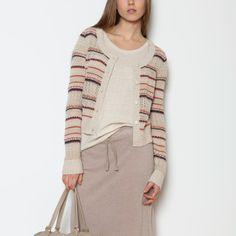 Roots - Stella Crochet Cardigan