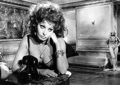Sophia Loren in Marriage Italian Style, 1964