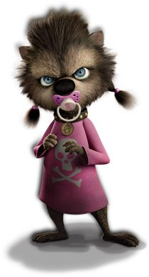 This is Winnie from hotel Transylvania!