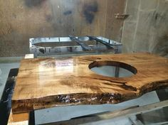 collingwood ON  TREEGREENTEAM.COM 705.607.0787 100% SALVAGED TREES BROUGHT BACK TO LIFE!  You are viewing samples of Live Edge Salvaged Tree Counters, Island Tops