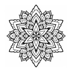 Invite Tranquility by Marie Reverie - Timeless ornamentation. A mesmerizing view of growth and transformation. Like a flower that begins at the center as a seed, it begins a beautiful journey, evolving, growing, blooming. Pfau Tattoo, Lotusblume Tattoo, Tattoo Signs, Leg Tattoos, Tattoos For Guys, Sleeve Tattoos, Dotwork Tattoo Mandala, Geometric Mandala Tattoo, Mandala Tattoo Design
