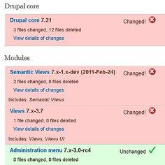 Hacked Report - How to update a Drupal site built by others | Chapter Three