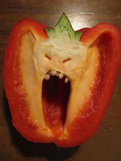Evil pepper will get you. PAAAAAAAYYYYTOOOOOON! THIS IS FOR YOUUUUUUU.