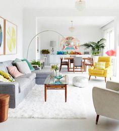 Los tonos que dan más energía a la casa