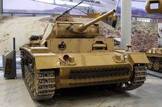 https://flic.kr/p/8Q5tjx | The Tank Museum, Bovington - WW2 1942 German Sd Kfz 141-1 Panzerkampfwagen III Ausf L
