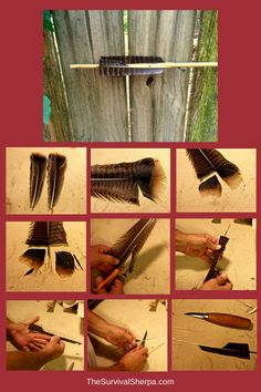 How to Straighten, Haft, and Fletch River Cane Atlatl Darts Homestead Survival, Survival Tools, Wilderness Survival, Survival Prepping, Arrow Tools, Primitive Technology, Archery Bows, Primitive Survival, Traditional Archery