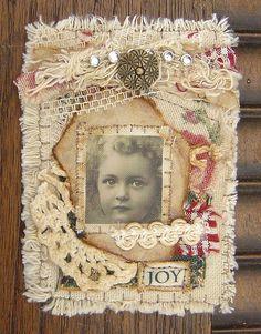 ATC: Joy by yitte, via Flickr
