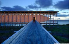 THE STEILNESET MEMORIAL  A MEMORIAL TO THE VICTIMS OF THE WITCH-HUNTS IN VARDØ  Peter Zumthor