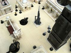 plateau de jeu Star Wars Miniatures - Rémi Bostal, illustrateur modéliste