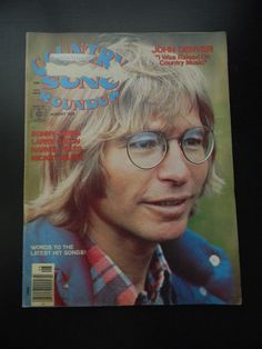 COUNTRY SONG ROUNDUP VINTAGE 1970s MUSIC MAGAZINE W/ JOHN DENVER & MORE