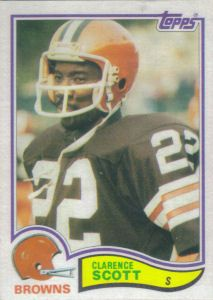 Clarence Scott 1982 Topps #73 football card Cleveland Browns History, Cleveland Browns Football, Football Trading Cards, Football Cards, Nfl Football Players, Football Helmets, Football Conference, Vintage Football, National Football League