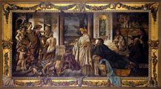 Anselm Feuerbach - Das Gastmahl (nach Plato), zweite Fassung