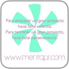 a new photo taken by mentaactivewear! Pensamientos positivos para empezar una nueva semana. #proyectos #perseverancia #valentia #goodmorning #mentasgirls #mentapr #shoponline #ff #instagram #instagood www.mentapr.com http://ift.tt/1PfuNn0