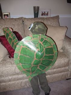 Diy turtle costume tutorial theatrical performances pinterest a special halloween costume solutioingenieria Gallery