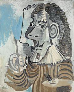 'Le peintre' (1967) by Pablo Picasso