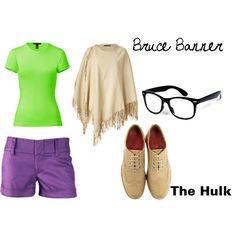 The Hulk\ Bruce Banner! I made this!