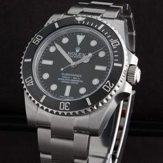 Rolex Submariner 114060 side view