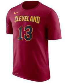 Nike Men's Tristan Thompson Cleveland Cavaliers Name & Number Player T-Shirt - Red XXL