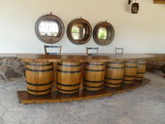 Wine Barrel Project Bar