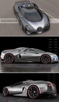 The new Bugatti Veyron