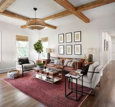 """Design Tip: My favorite room in this episode was the living room, these are a few of my favorite elements of the living room and the """"why"""" behind them."""