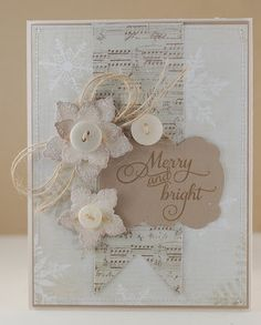 The Mango Boys and Me: World Card Making Day: Christmas! - so, so, SO pretty!