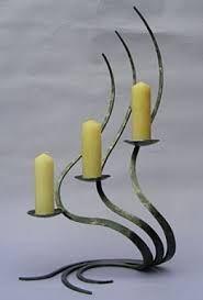 Resultado de imagen para candelabros en hierro forjado bogota