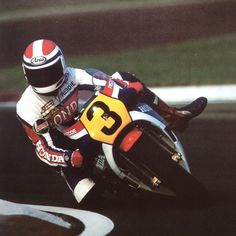 Freddie Spencer, The Golden Years, Road Racing, Motogp, Grand Prix, Football Helmets, Honda, Classic, Scale Model