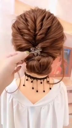 Step By Step Hairstyles, Easy Hairstyles For Long Hair, Braided Hairstyles, Easy Wedding Hairstyles, Easy Hair Up, Easy Updos For Medium Hair, Super Easy Hairstyles, Short Hair Updo, Braid Hair