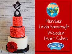 Linda Kavanagh - Wooden Heart Cakes Westmeath Ireland Modern edible art sculpture Mother Child Cake