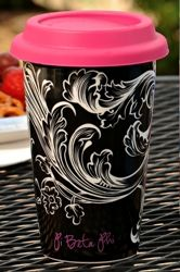 Ceramic coffee cup, yes please.