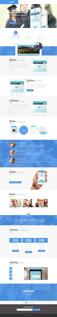 14 best landing page html images landing page html, page templateappster ultimate app landing page psd template app, ultimate, appster