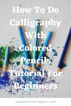 Beginning Calligraphy, How To Do Calligraphy, Pencil Calligraphy, Calligraphy Lessons, Calligraphy Tutorial, Hand Lettering Tutorial, Hand Lettering For Beginners, Calligraphy For Beginners, Hand Lettering Alphabet