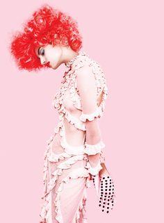 Pink - Bruna Ludtke by Erik Madigan Heck for New York Magazine