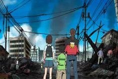 These are the Best Anime Series not Based on Books or Games: Tokyo Magnitude 8.0