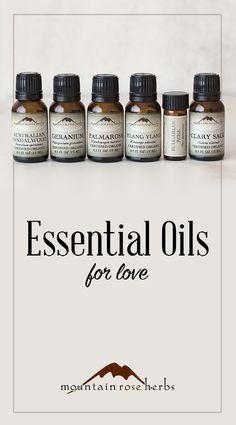 New Blend! Essential Oils for Love by Mountain Rose Herbs!