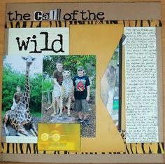 step-by-step scrapbook tutorial- use an envelope on your layout   live. love. scrap.: Layout of the Week #111