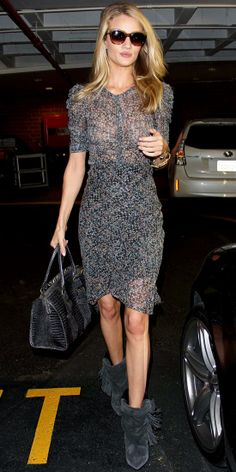 Look of the Day: October 31, 2013 - Rosie Huntington-Whiteley : InStyle.com