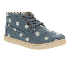 Toms Youth Botas Chambray Spots - Unisex