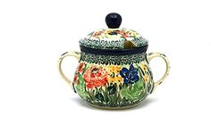 Polish Pottery Sugar Bowl  Unikat Signature U4400 ** This is an Amazon Affiliate link. You can get additional details at the image link.