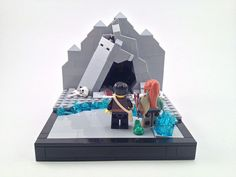 The Journey: Into the Den LEGO microscale